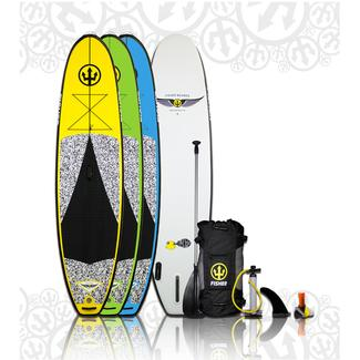 Blowfish Inflatable Paddleboard, Yellow