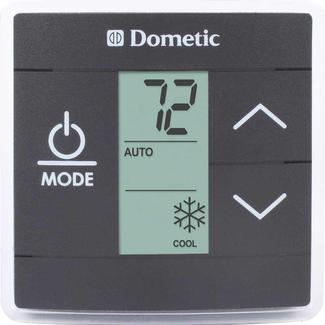 Dometic Capacity Touch Thermostat with Control Kit, Cool/Furnace, Black