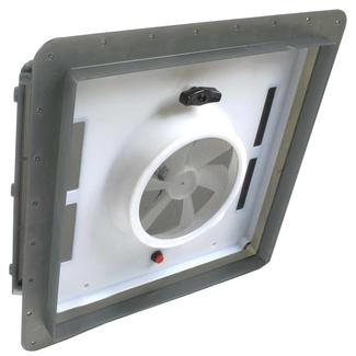 12-Volt EZ-Breeze Vent Fan, Smoke