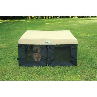 Canvas Pet Fence Cover