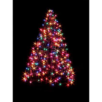 2' Crab Pot Tree, 80 Multi-Color LED Lights