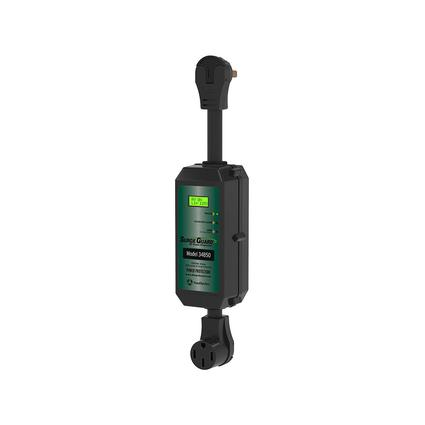 Portable Surge Guard with LCD Display, 50 Amp