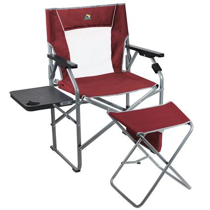 Folding Director's Chair with Ottoman