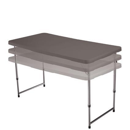 4' Clay Fold N Half Table
