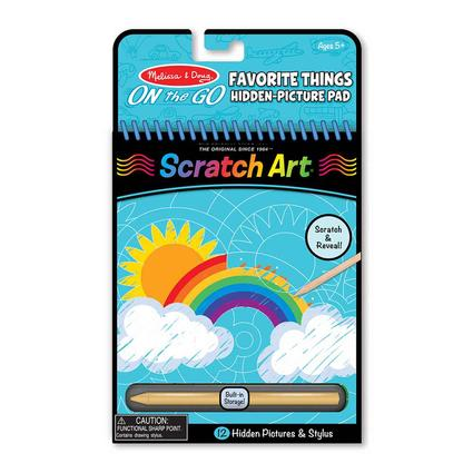Favorite Things Hidden-Picture Pad