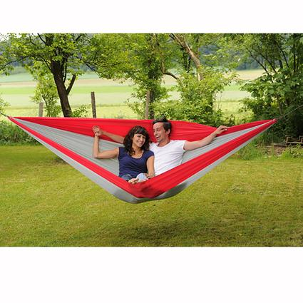 traveller double xxl hammock gray red   byer manufacturing  pany a103084   hammocks   camping world traveller double xxl hammock gray red   byer manufacturing      rh   campingworld