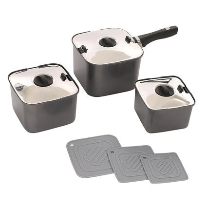 Smart Space 10-piece Nesting Cookware