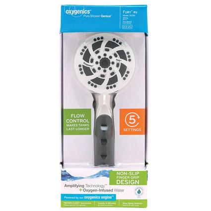 Fury Handheld Shower, White
