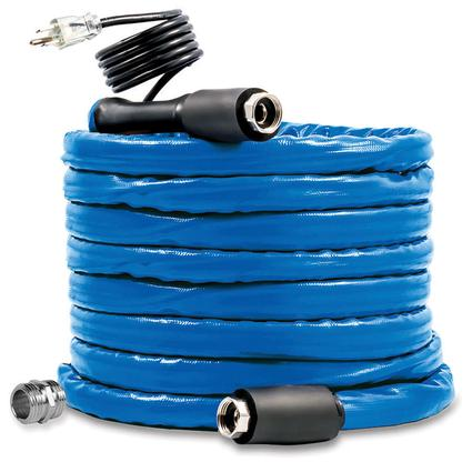 Freeze Ban Heated Drinking Water Hose, 50'