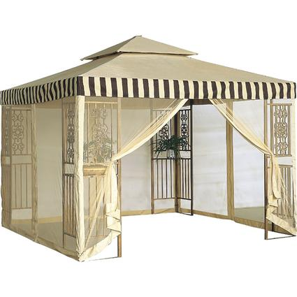 10' x 10' Steel Frame Two Tier Gazebo