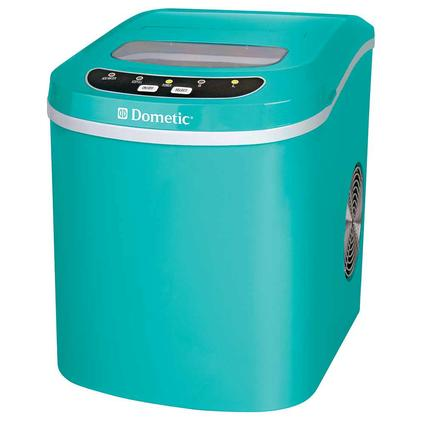 Small Portable Ice Maker, Teal