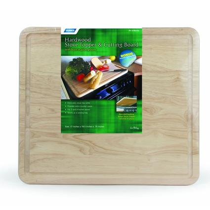 Hardwood Stove Topper Cutting Board Camco 43753