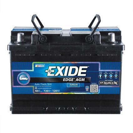 Exide Edge AGM Heavy-Duty RV/Marine Batteries, FP-AGML3/48DS