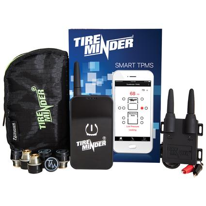 TireMinder Smart TPMS with 6 Transmitters for RVs, MotorHomes, 5th Wheels, Motor Coaches and Trailers