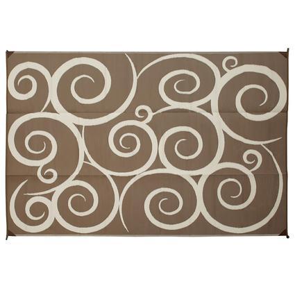 Reversible Swirl Design Patio Mats