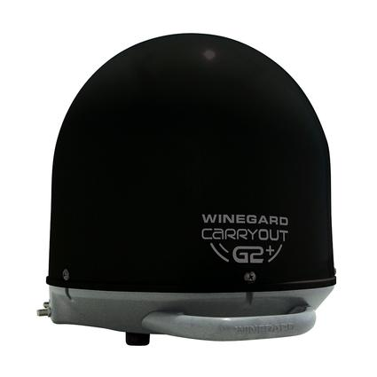 Winegard Carryout G2+ Portable Satellite Antenna, Black