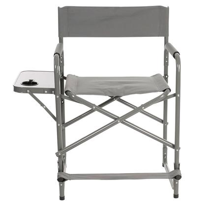 Tall Gray Directors Chair