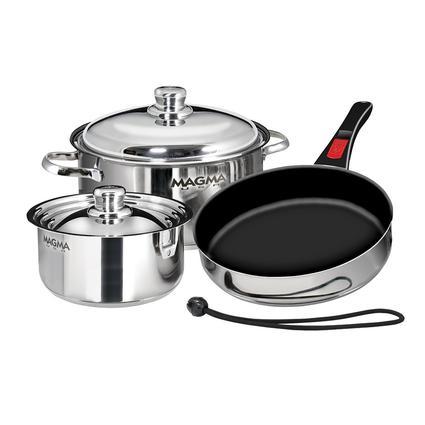 7 Piece SS Cookware Set