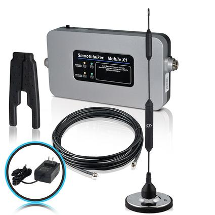 RV Kit with 120 Volt Power Source & Magnetic Antenna