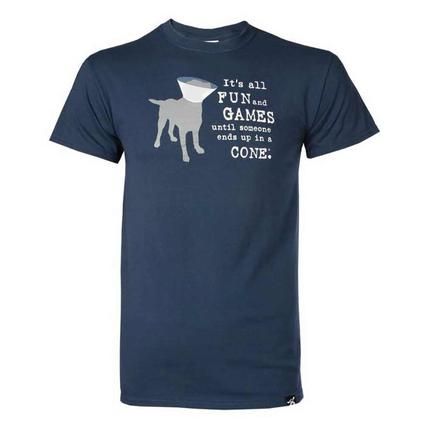 Dog is Good Fun and Games Tee Shirt, Medium