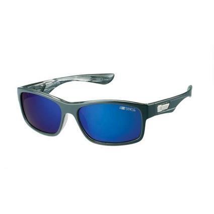 NASCAR Collection Sunglasses, Black Frames with Deep Blue Lenses