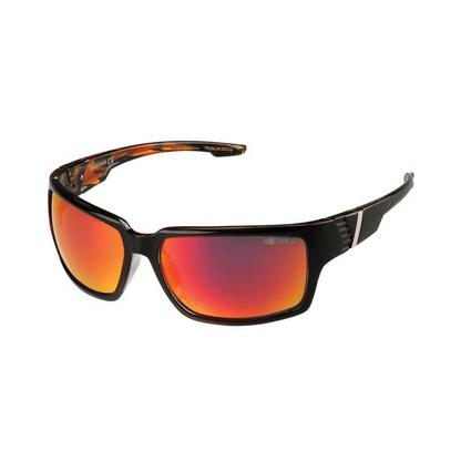 NASCAR Collection Sunglasses, Black/Burled Frames with Yellow/Orange Lenses