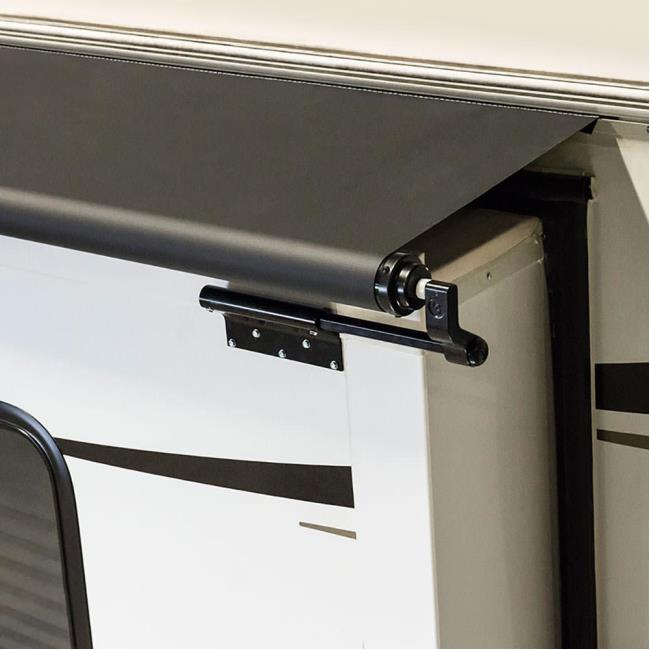 Elegant Image Solera Slider With Awning Rail. To Enlarge The Image, Click Or Press  Enter .