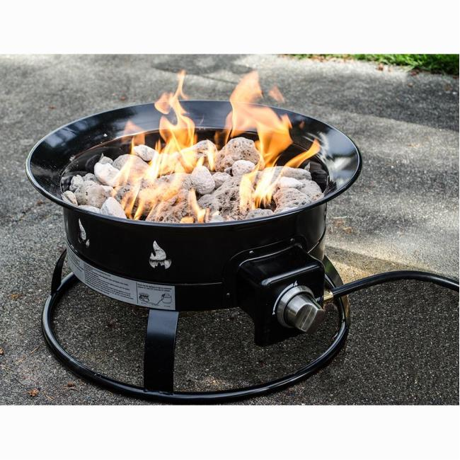 Image Portable Propane Outdoor Fire Pit. To Enlarge The Image, Click Or  Press Enter .