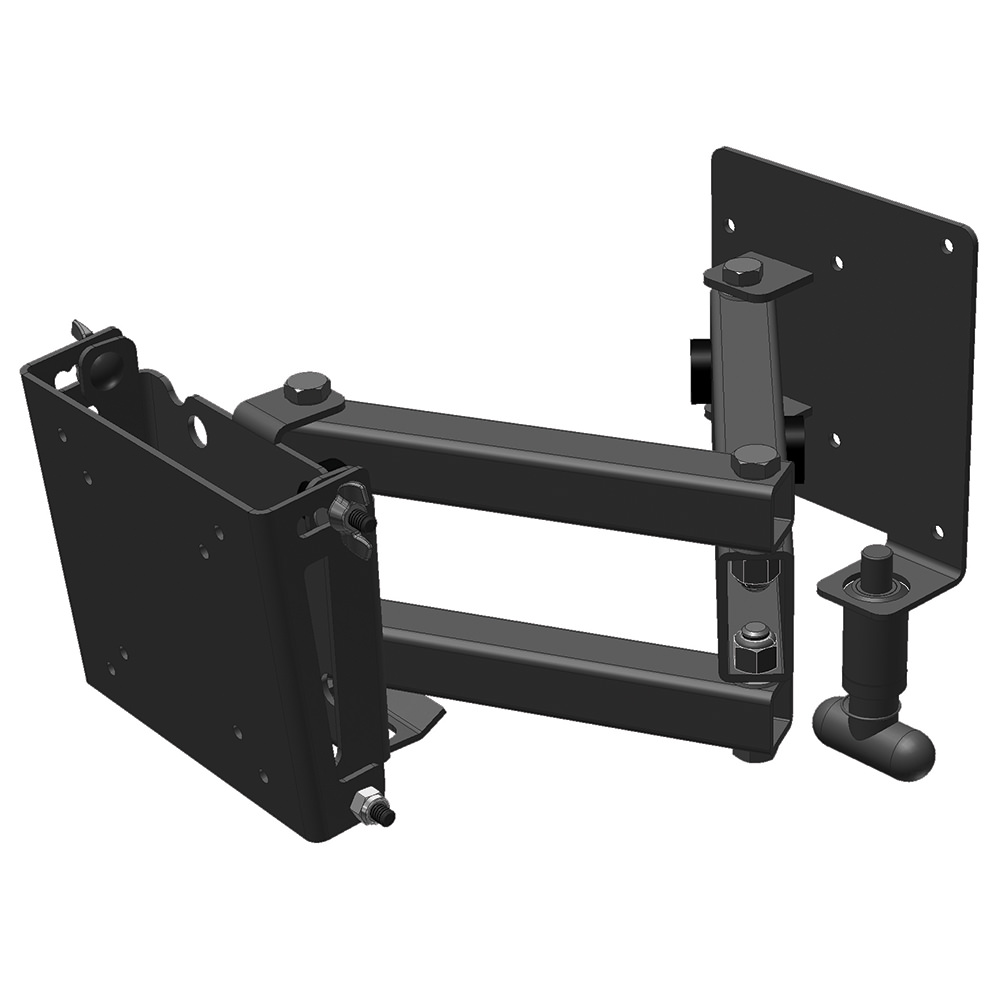 Small Double Arm Locking TV Mount   Mor Ryde International TV1 025H   TV  Accessories   Camping World
