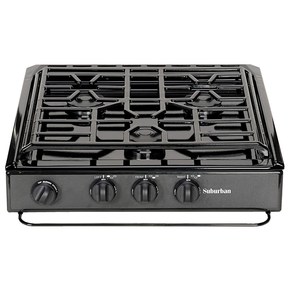 3 Conventional Burners, Slide In Cooktop   Suburban SCN3BEZ   Counter U0026  Stove Tops   Camping World