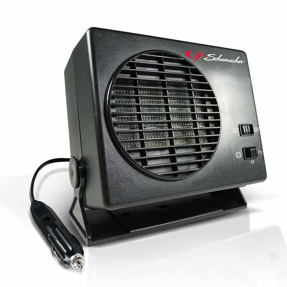 ceramic heater fan schumacher electric 1224 portable heaters camping world. Black Bedroom Furniture Sets. Home Design Ideas