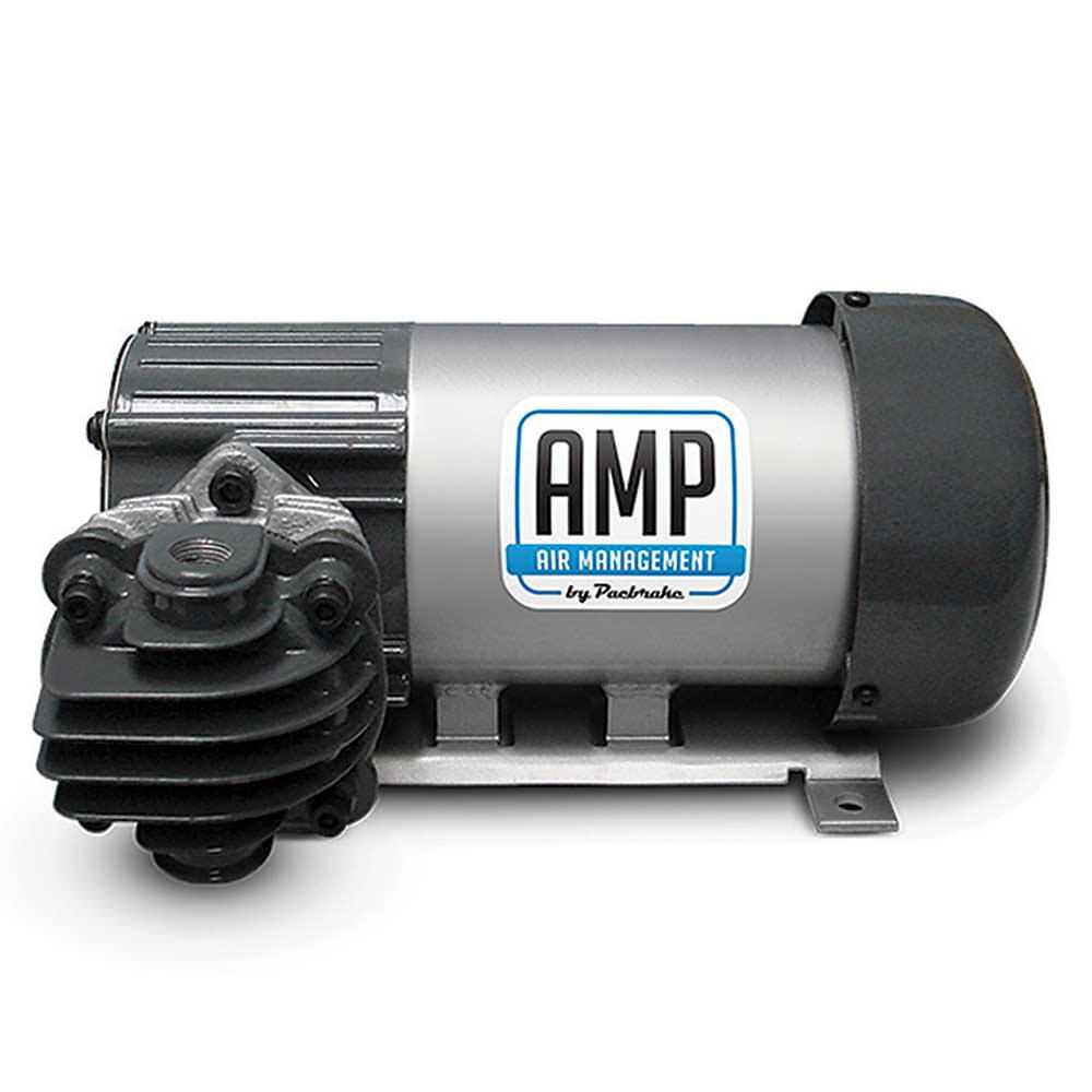 Pacbrake 12 Volt Compressor With Horizontal Pump Head