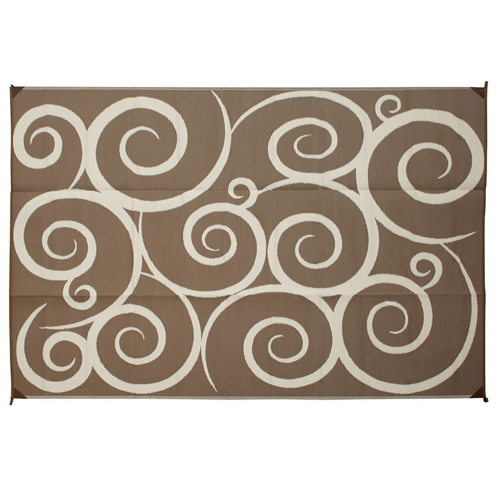 reversible swirl design patio mats direcsource ltd patio mats