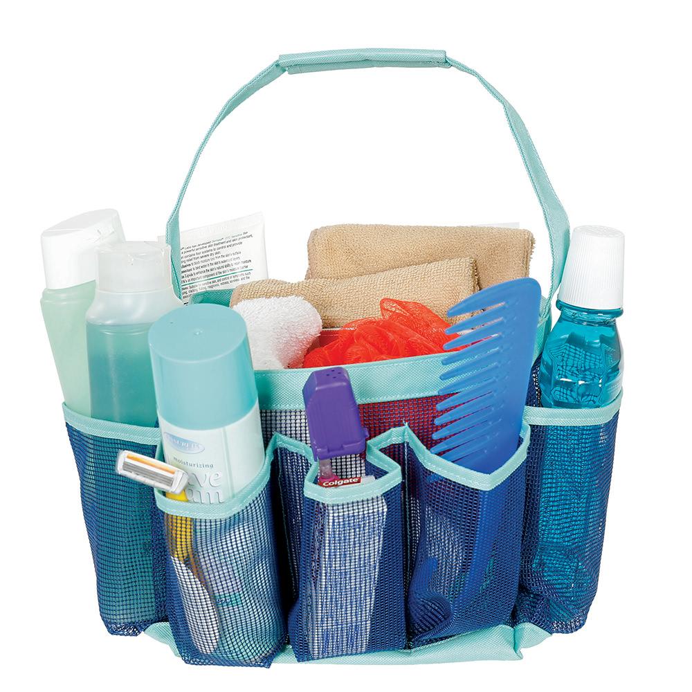 Mesh Shower Organizer - Direcsource Ltd 100656 - Bathroom ...