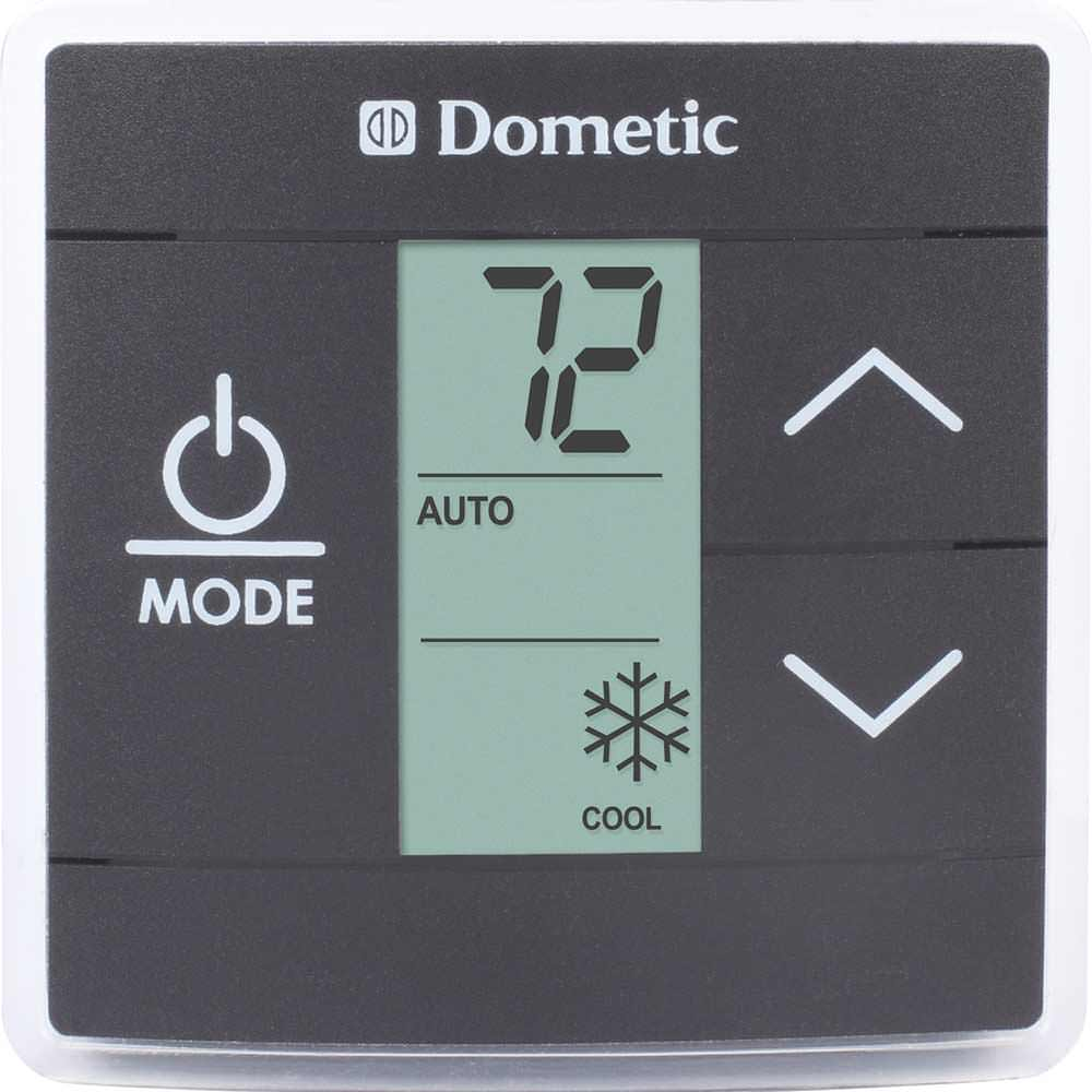 Dometic Capacity Touch Thermostat With Control Kit Cool Furnace Single Zone Wiring Diagram Black 3316230014 Thermostats Camping World