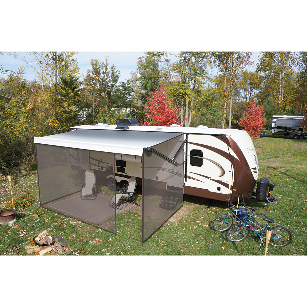 Solera Screen Room, 15u0027   Lippert Components Inc 362218   Patio Awning  Rooms   Camping World