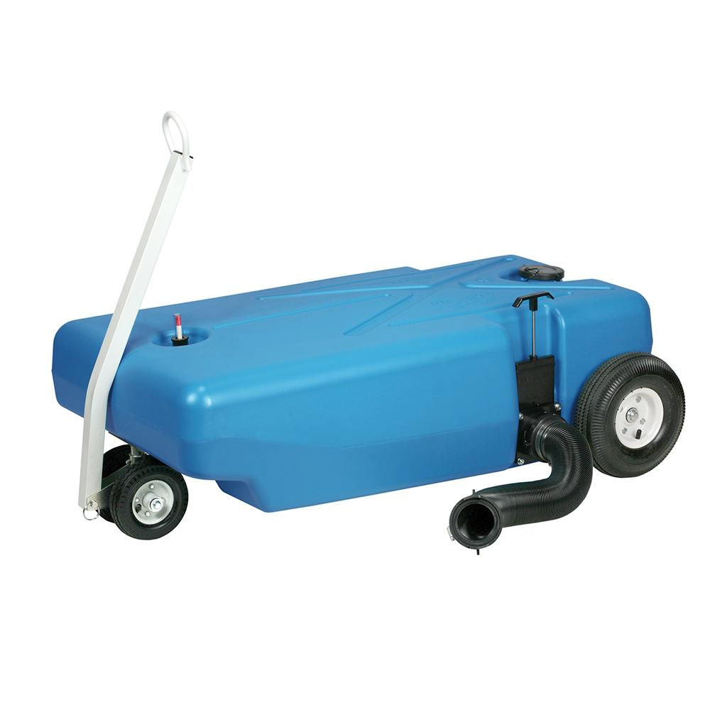 Barker 4 Wheeler Tote Tank With Pneumatic Wheels 42