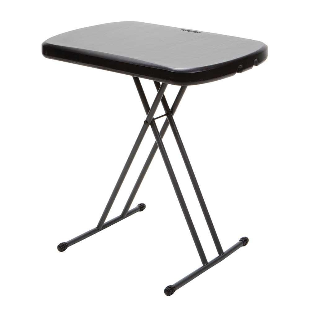 Black Personal Table Lifetime Folding Tables Camping World