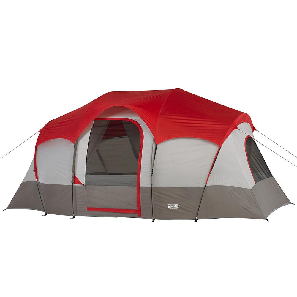 ... Blue Ridge 7 Person Tent ...  sc 1 st  C&ing World & Blue Ridge 7 Person Tent - American Recreational 36498 - Family ...