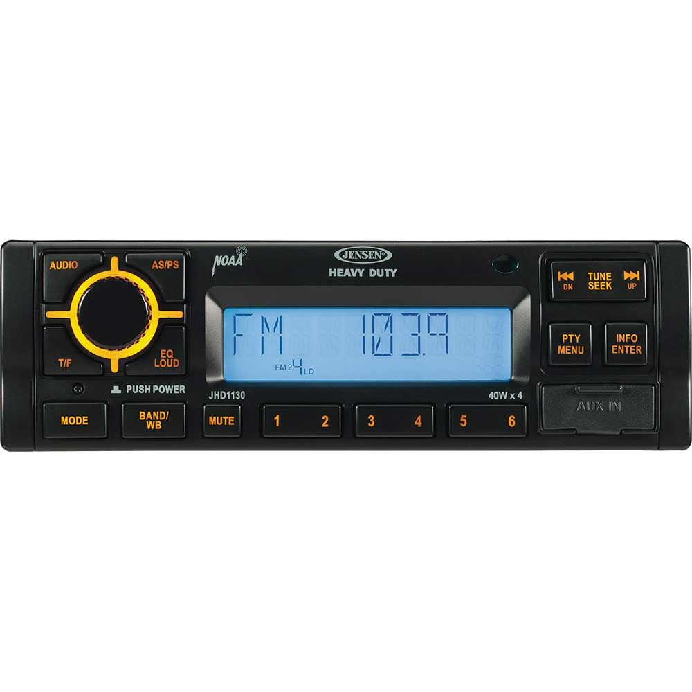 90823n radio jensen jhd1130b heavy duty stereo with weatherband jensen and on jensen stereo wiring diagram for jhd1130