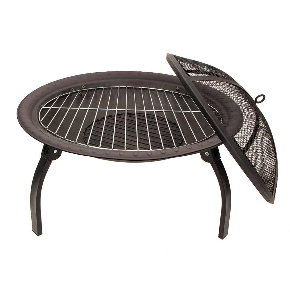 Delightful ... Portable Outdoor Fire Pit ...