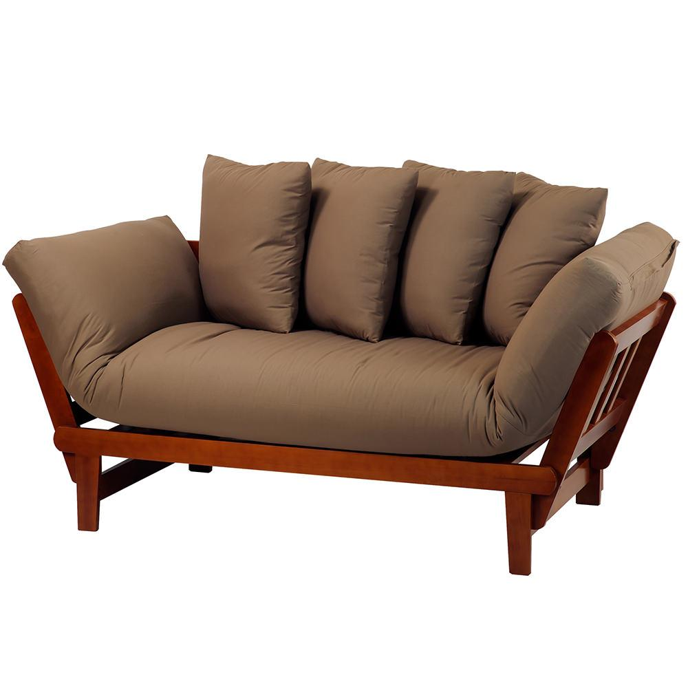 Casual Lounger Sofa Bed Oak Yu Shan Co Usa Ltd 411 75