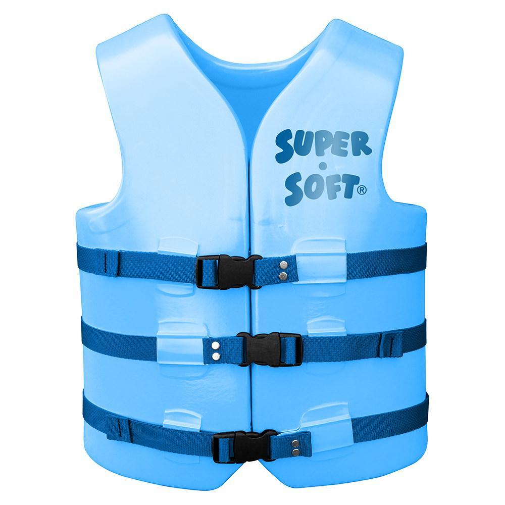 Super Soft Adult Life Vest, Medium, Marina Blue - Trc ...