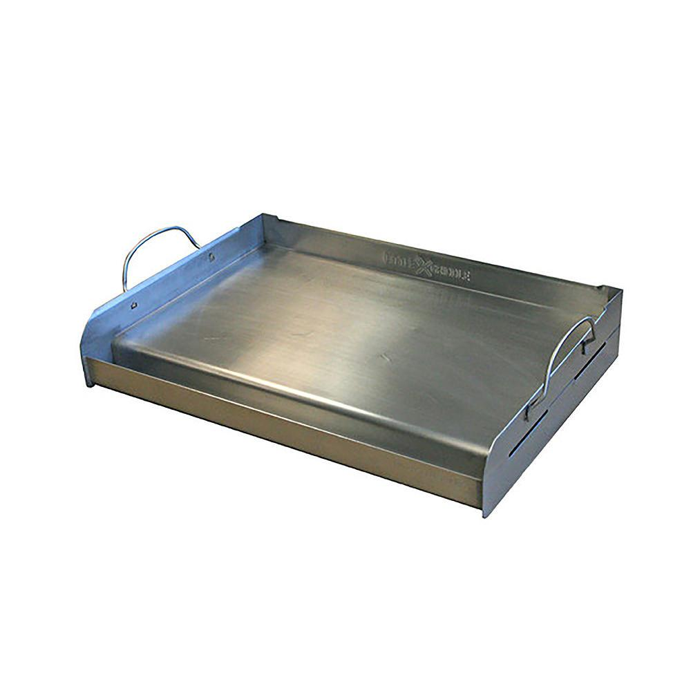 Stainless Steel Griddle ~ Professional series full size stainless steel bbq griddle