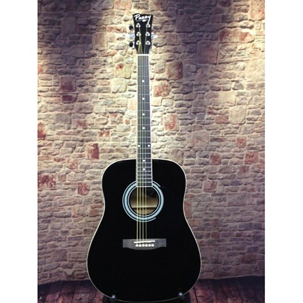Perry Adult Dreadnought Acoustic Guitar Combo Black Chord Buddy