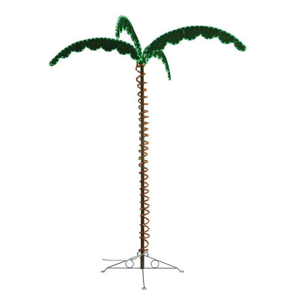 Green long life decorative 7 led rope light palm tree mings mark green long life decorative 7 led rope light palm tree aloadofball Image collections