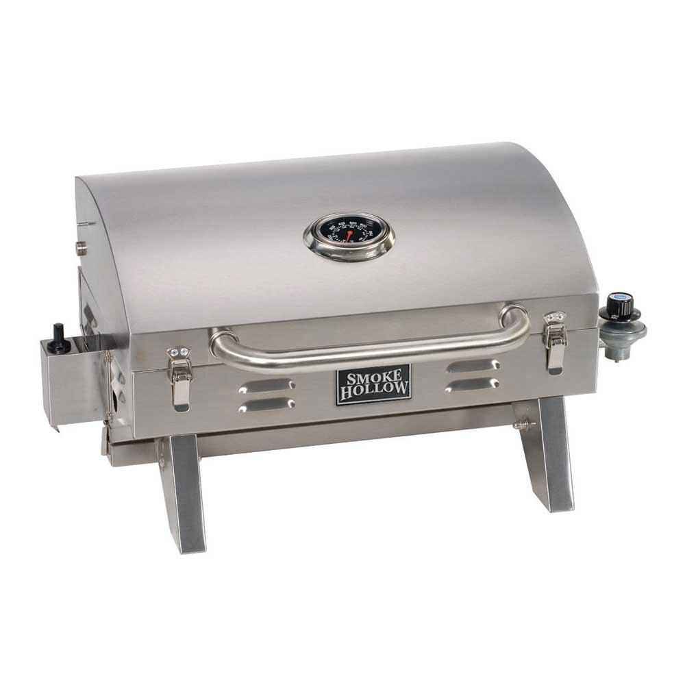 ... Smoke Hollow Stainless Steel Tabletop Grill ...