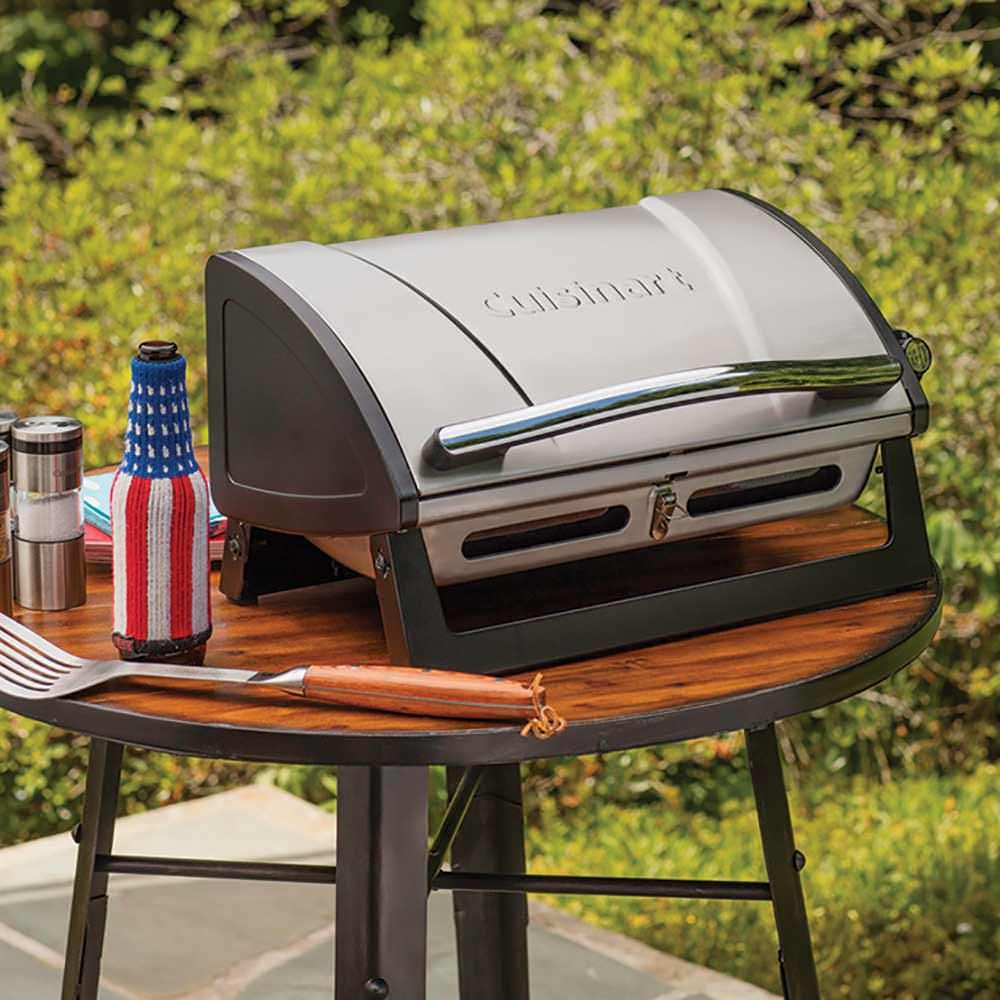 cuisinart grillster portable gas grill the fulham group. Black Bedroom Furniture Sets. Home Design Ideas
