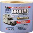 "Quick Roof Extreme Repair Tape, Bright White, 6"" x 75'"