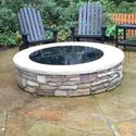 Round Fire Pit Cover, 34